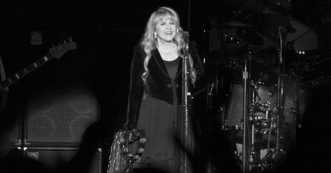 Stevie Nicks of Fleetwood Mac performing in 2013